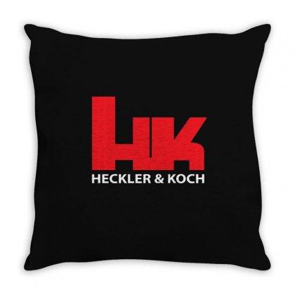 Hk Heckler And Koch Throw Pillow Designed By Mdk Art