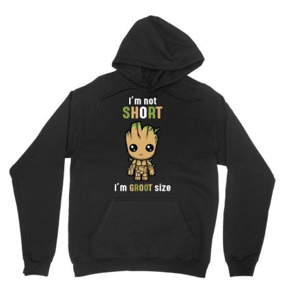 Groot Size Unisex Hoodie Designed By Wizarts