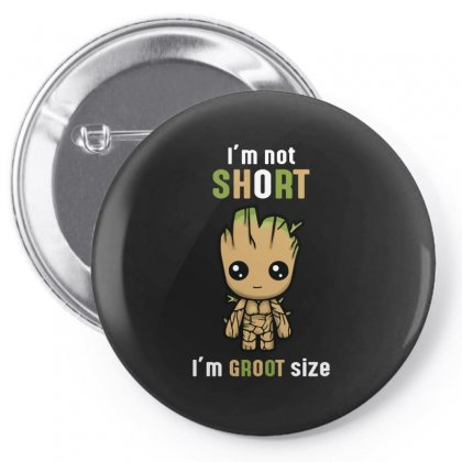 Groot Size Pin-back Button Designed By Wizarts