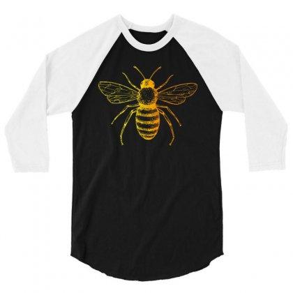 Bee 3/4 Sleeve Shirt Designed By Zeynepu