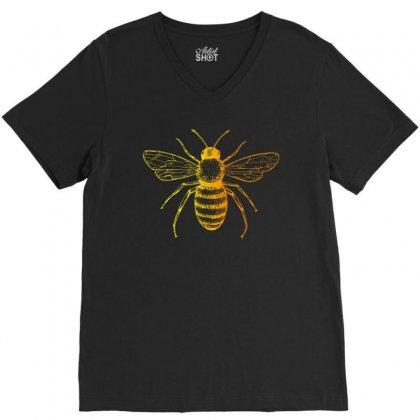 Bee V-neck Tee Designed By Zeynepu
