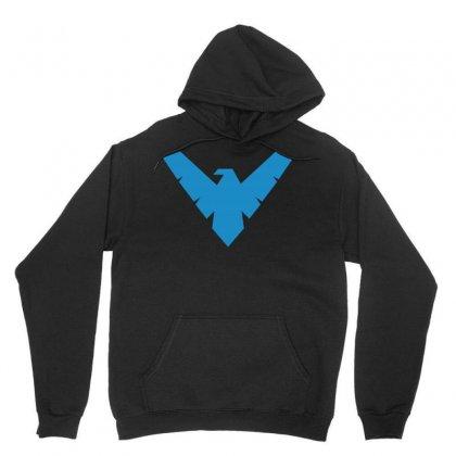 Nightwing Logo Unisex Hoodie Designed By Yellow Star