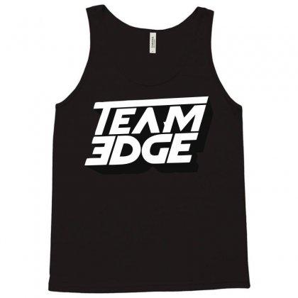 Team 3dge Logo Tank Top Designed By Yellow Star