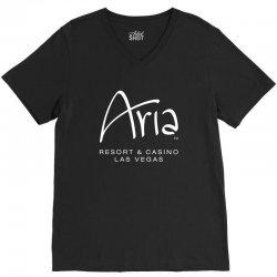 Aria resort and casino Las Vegas V-Neck Tee | Artistshot