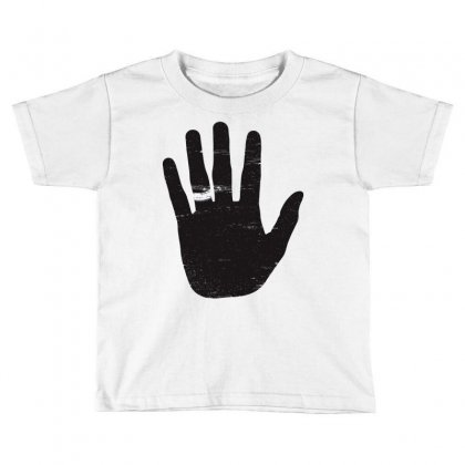 Till Death Do Us Part Toddler T-shirt Designed By Mdk Art