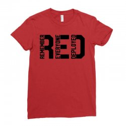 remember everyone deployed Ladies Fitted T-Shirt | Artistshot