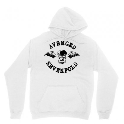 Avenged Sevenfold Black Logo Unisex Hoodie Designed By Republic Of Design