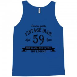 aged 59 years Tank Top | Artistshot