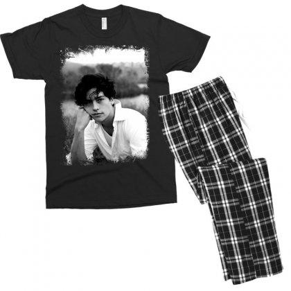 Cole Sprouse Men's T-shirt Pajama Set Designed By Sengul