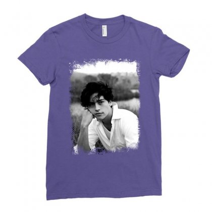 Cole Sprouse Ladies Fitted T-shirt Designed By Sengul