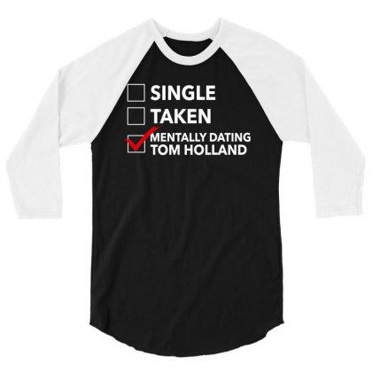 Tom Holland Dating 3/4 Sleeve Shirt Designed By Sengul