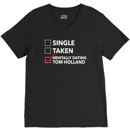 Tom Holland Dating V-neck Tee Designed By Sengul