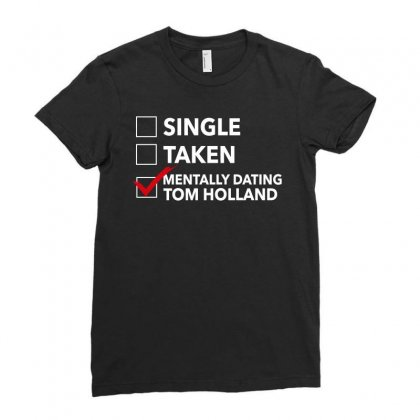 Tom Holland Dating Ladies Fitted T-shirt Designed By Sengul