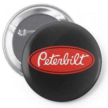 Peterbilt Pin-back Button Designed By Mdk Art