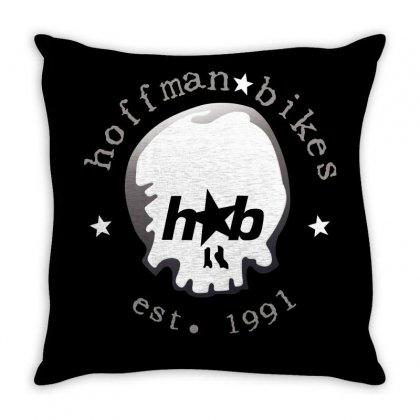Hoffman Bikes Throw Pillow Designed By Ewanhunt