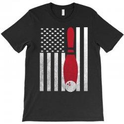 Bowling Bowler - America USA Flag T-Shirt | Artistshot