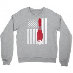 Bowling Bowler - America USA Flag Crewneck Sweatshirt | Artistshot