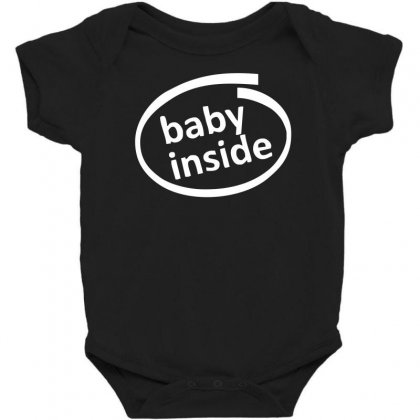 Baby Inside Sticker Vinyl Decal Baby Bodysuit
