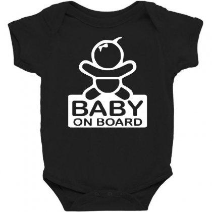 Baby On Board Sticker Vinyl Decal Baby Bodysuit