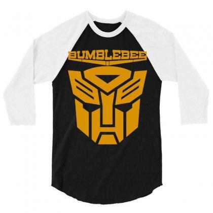 Bumblebee Transformer 3/4 Sleeve Shirt Designed By Allentees