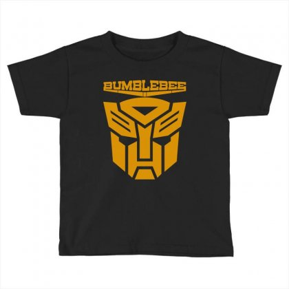 Bumblebee Transformer Toddler T-shirt Designed By Allentees
