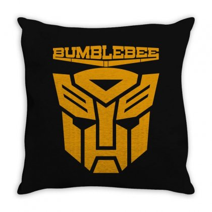 Bumblebee Transformer Throw Pillow Designed By Allentees