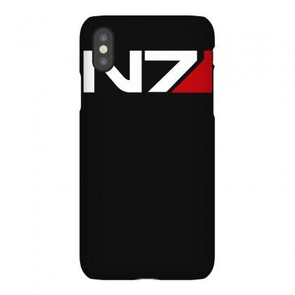 Mass Effect N7 Logo Iphonex Case Designed By Mdk Art