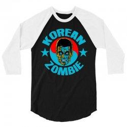 ufc korean zombie 3/4 Sleeve Shirt | Artistshot