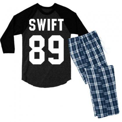 Taylor Swift Men's 3/4 Sleeve Pajama Set Designed By Tshiart