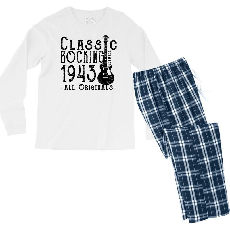 Rocking Since 1943 Men's Long Sleeve Pajama Set | Artistshot