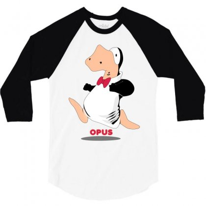Opus Penguin 3/4 Sleeve Shirt Designed By Shoptee