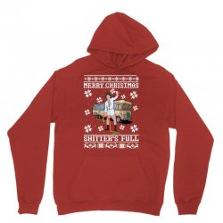 merry christmas shitters full christmas ugly Unisex Hoodie   Artistshot