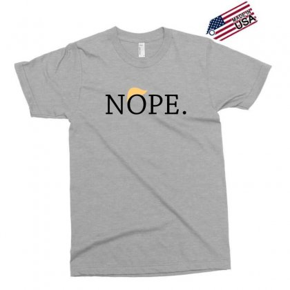 Anti Trump Nope Funny Exclusive T-shirt Designed By Tee Shop