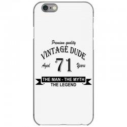 aged 71 years iPhone 6/6s Case   Artistshot