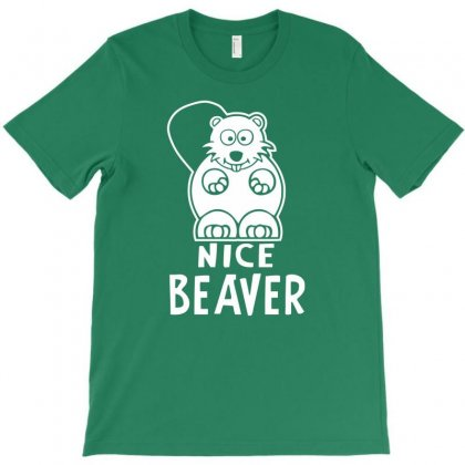 Nice Beaver T-shirt Designed By Tonyhaddearts