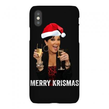 Merry Krismas Kris Jenner Iphonex Case Designed By Sengul