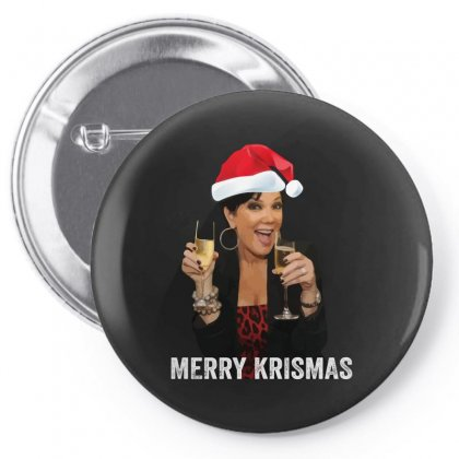 Merry Krismas Kris Jenner Pin-back Button Designed By Sengul