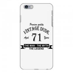 aged 71 years iPhone 6 Plus/6s Plus Case   Artistshot