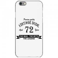 aged 72 years iPhone 6/6s Case | Artistshot