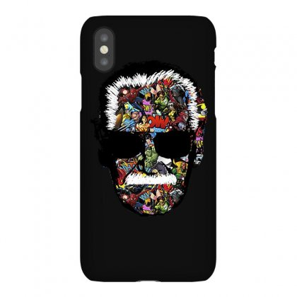Stan Lee Man Many Face Iphonex Case Designed By Uptosign