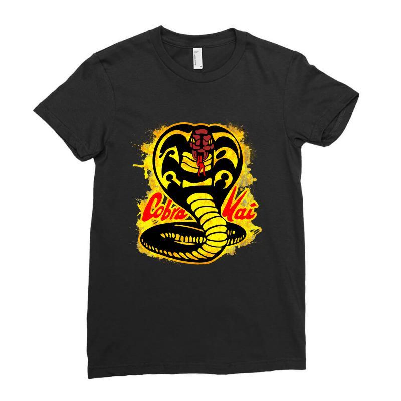 Cobra Kai Ladies Fitted T-shirt   Artistshot