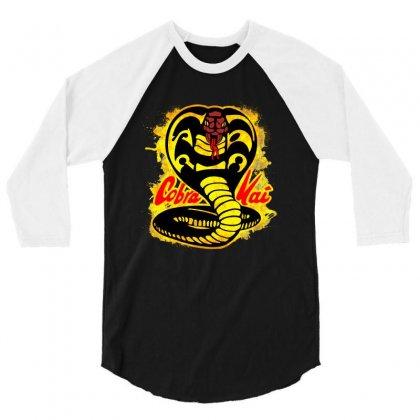 Cobra Kai 3/4 Sleeve Shirt Designed By Uptosign