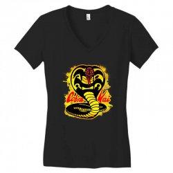cobra kai Women's V-Neck T-Shirt   Artistshot