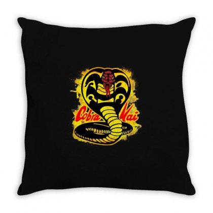Cobra Kai Throw Pillow Designed By Uptosign