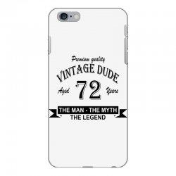aged 72 years iPhone 6 Plus/6s Plus Case | Artistshot