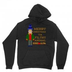 merry christmas ya filthy animal home alone Unisex Hoodie   Artistshot