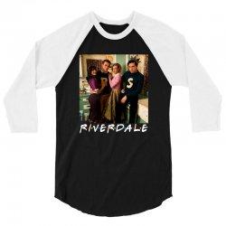 riverdale for dark 3/4 Sleeve Shirt | Artistshot