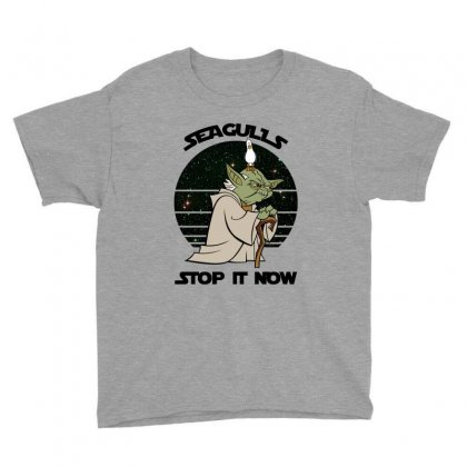 Seagulls Stop It Now Youth Tee Designed By Zeynepu