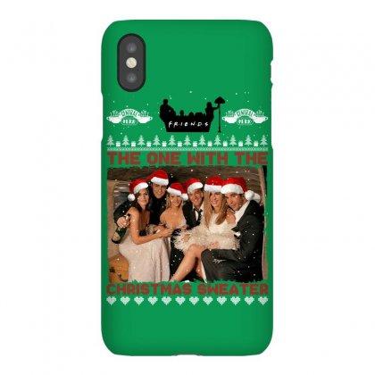 Friends Tv Show Ugly Christmas Iphonex Case Designed By Sengul