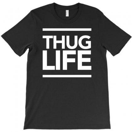 Thug Life T-shirt Designed By Tonyhaddearts